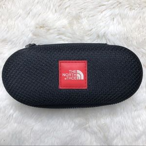 The North Face Black Zippered Glasses Case